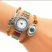Eyes Arrow Heart Bracelet Watch