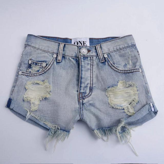 Hot Hole Ripped Tassel Rough Edges Shorts - Meet Yours Fashion - 9