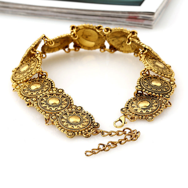 European Fashion Brand Alloy Collar Retro Necklet