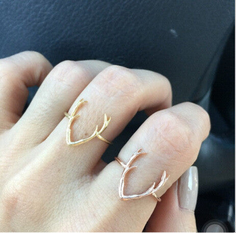 Light alloy ring antlers