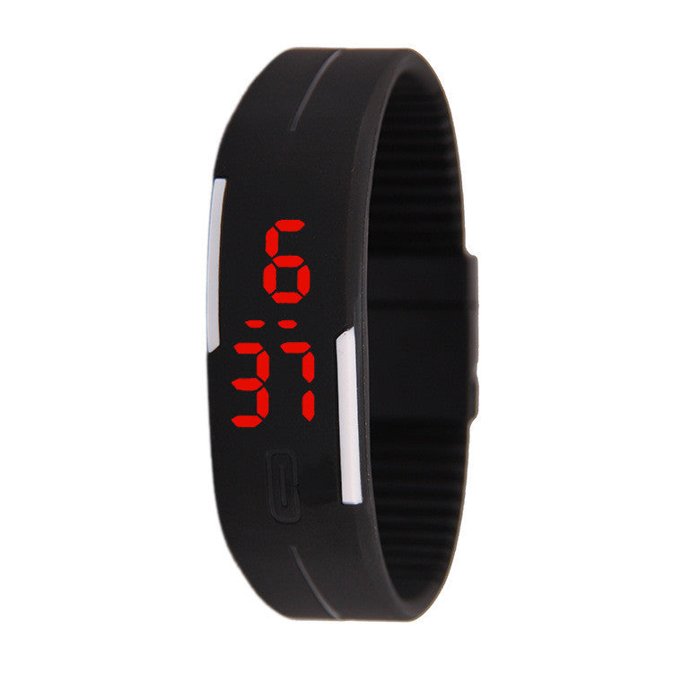 Fashion LED Light Electronic Watch
