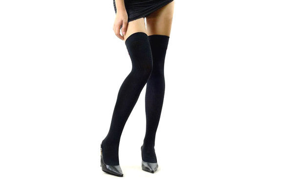 Over the Knee Thinner Cotton Socks - MeetYoursFashion - 12