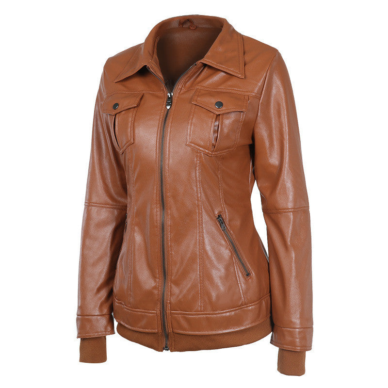 Faux Twinset Pocket Woman Jacket with Removable Hat on - Meet Yours Fashion - 8