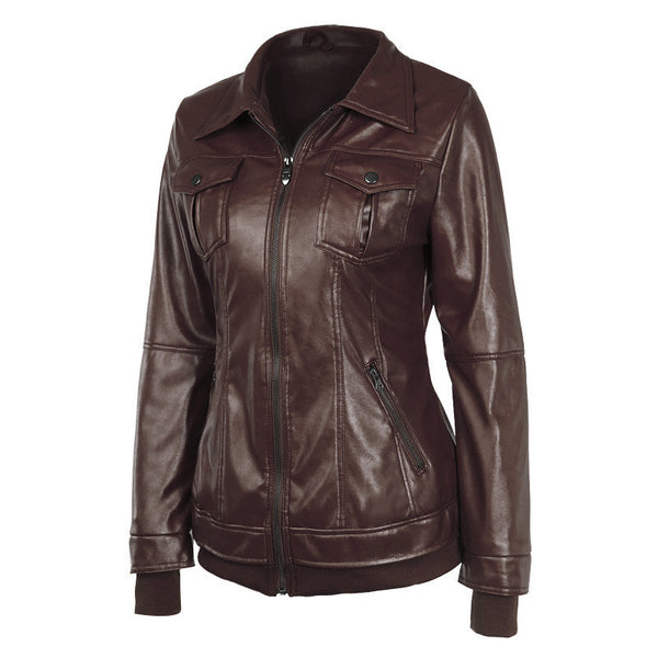 Faux Twinset Pocket Woman Jacket with Removable Hat on - Meet Yours Fashion - 13