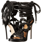 Straps Lace UP Ankle Wrap Open Toe Super High Stiletto Heel Sandals