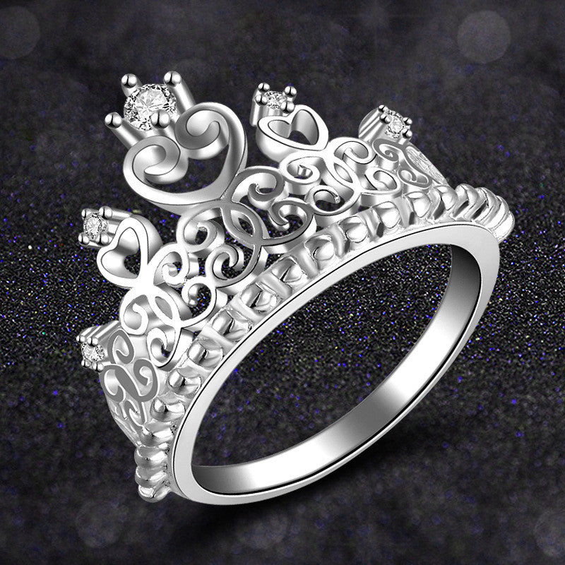 Crown Wedding ring