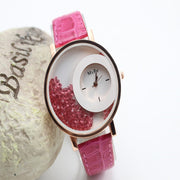 Classic Candy Color Quicksand Snake Skin Watch