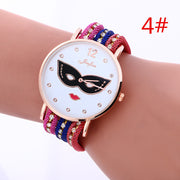 Korean Style Mask Women Watch