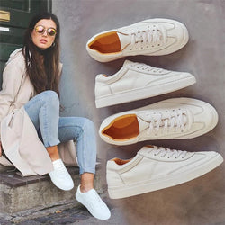 Classic Casual White Couple Sneakers