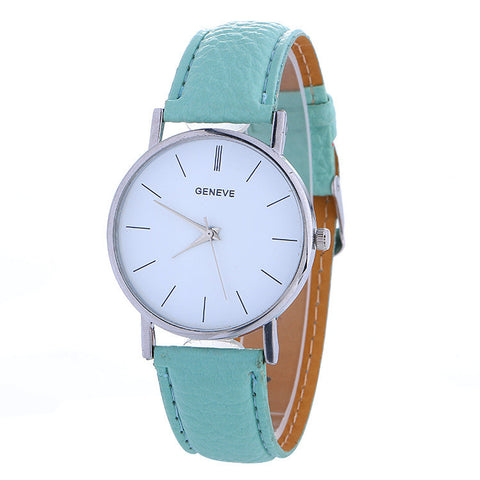Hot Style Simple Leather Watch