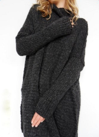 Long Sleeve Knit Loose Sweater