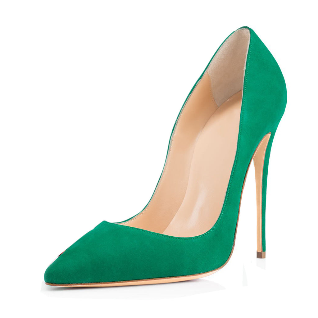 9cc4032c98 Candy Color Pointed Toe Low Cut Super High Stiletto High Heels Party S –  MeetYoursFashion
