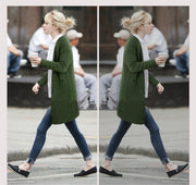 Korean Long Knit Loose Solid Color Sweater - Meet Yours Fashion - 2