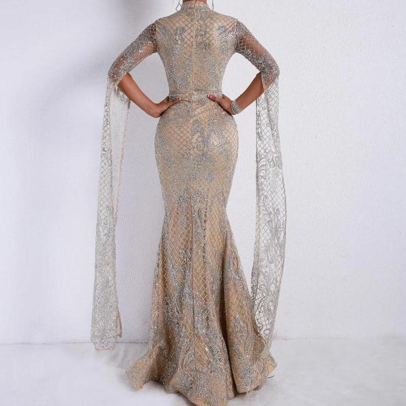 Sparkle Champagne Mermaid Dress