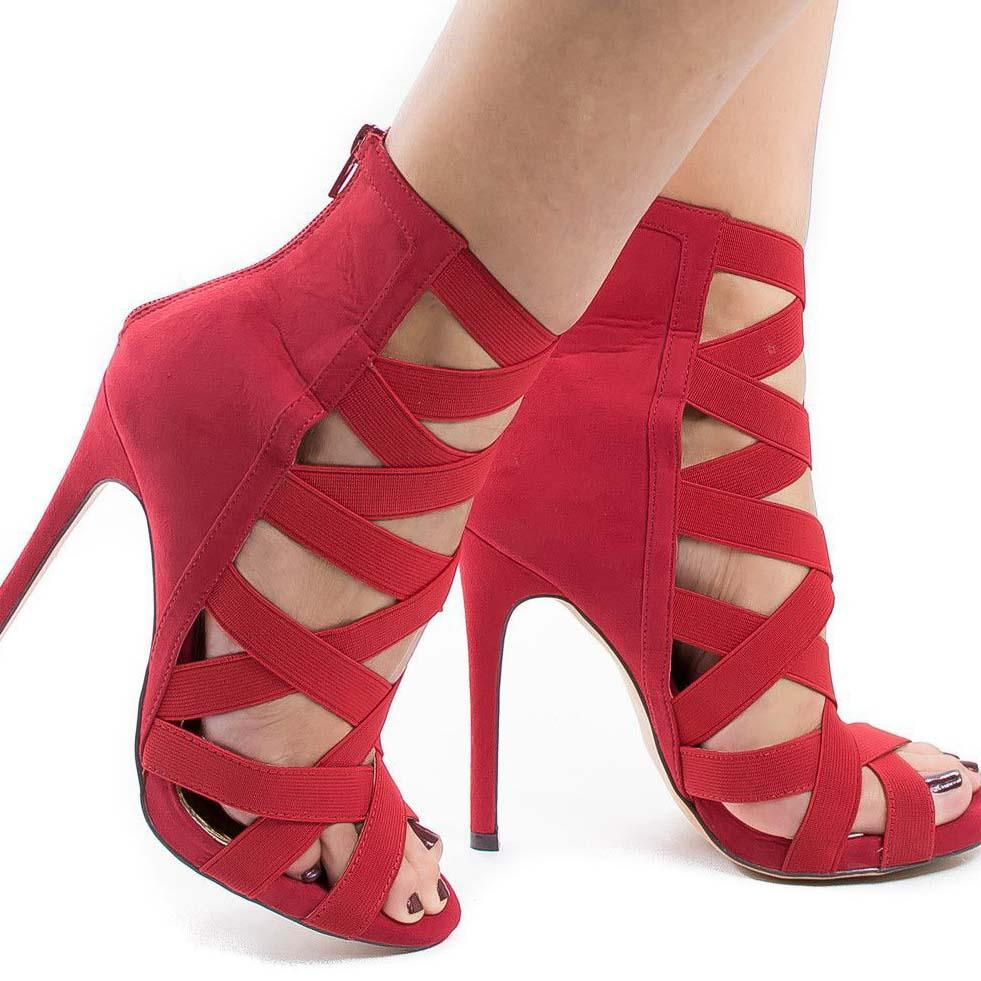 Ankle Peep Toe Open Toe Sandals