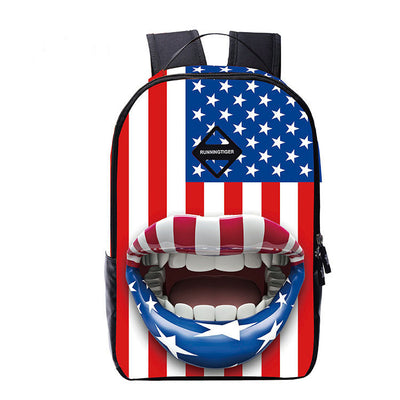 Unique Print Casual Style Backpack Travel Bag - Meet Yours Fashion - 1