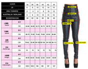 High Waist Buttons Packets Pure Color Slim Long Skinny Pants
