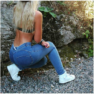 Skinny Carry Buttock Slim 9/10 High Waist Leggings
