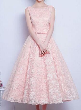 High Waist Pure Color Lace Women Short Party Dress