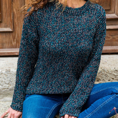 Knitted Thick Pullover Sweater
