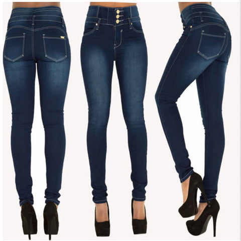 Ripped StretchPlus Size Skinny Pants