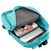 Polka Dot Print Korea School Backpack Travel Bag - Meet Yours Fashion - 6