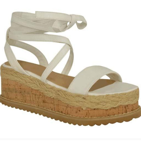 Platform Wedge Espadrille Gladiators Sandals