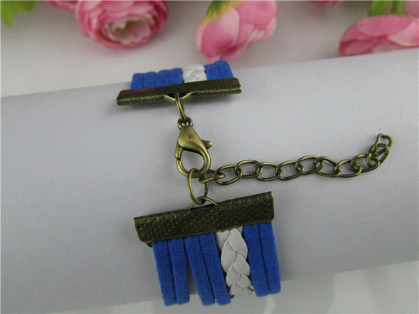 Fashion Rudder Multilayer Velvet Rope Bracelet