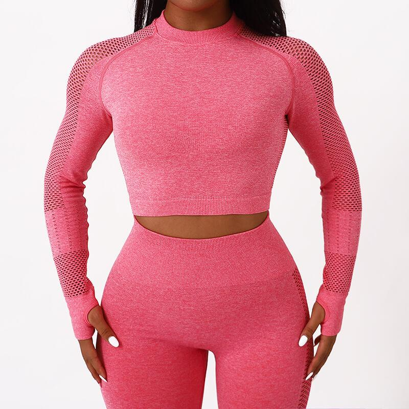 Scoop Crop Top High Waist Skinny Pants Set