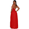 Spaghetti Strap Maxi Slits Dress