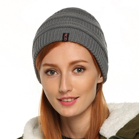 Finejo Autumn/ Winter Warm Casual Unisex Knit Ski Hats Hip-Hop Beanie Cap Hat