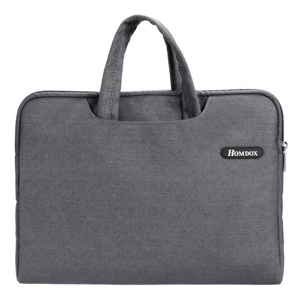 Homdox Denim Fabric Laptop Sleeve Briefcase Bag Cover For Notebook Computer For MacBook Pro