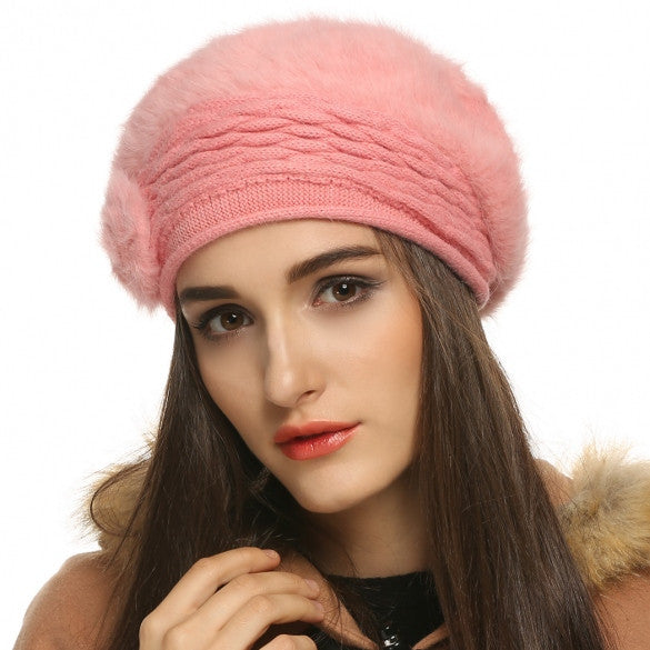 8d67c62cdfd Sale FINEJO Fashion Women s Winter Warm Knitted Hats Beanie Cap 5 Colors