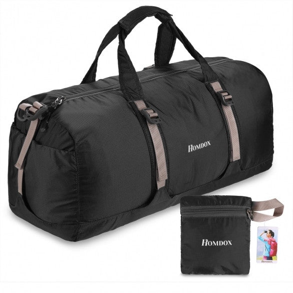 Homdox New Practical Portable Folding 40L Packable Handle Travel Bag