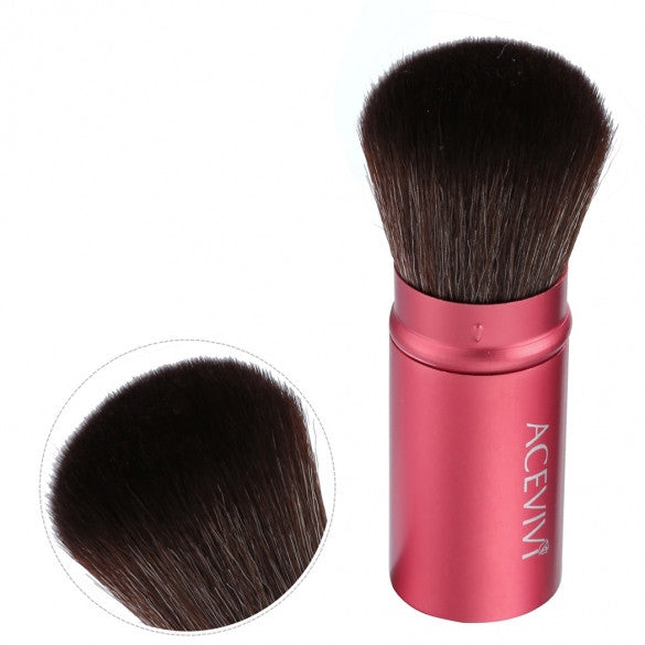 Acevivi Retractable Kabuki Brush Concealer Foundation Blush Face Powder Bronzer Makeup Brushes