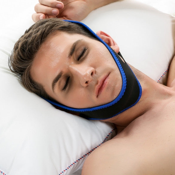 ACEVIVI Nylon Snore Stopping Chin Strap Soft Sleep Anti Snore Strap