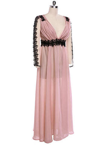 Sexy Long Lace/Chiffon Evening Formal Party - MeetYoursFashion - 3