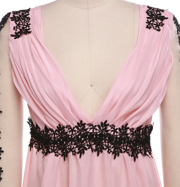 Sexy Long Lace/Chiffon Evening Formal Party - MeetYoursFashion - 6