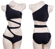 High Waist One Piece Push Up Bandage Bikini Monokini - MeetYoursFashion - 4