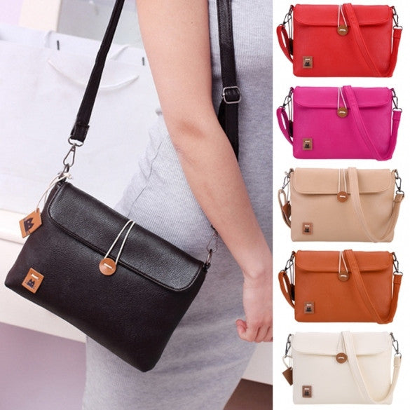 2016 Newest Fashion Women Lady's Tote Clutch Handbag Portable Small Size Button Purse Shoulder Cross Bag