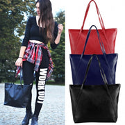 Fashion Ladies Women Synthetic Leather Bag Shoulder Bag Casual Handbag