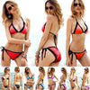 Sexy Lingerie Lace Bra Padded Beach Bikini Set - Meet Yours Fashion - 9