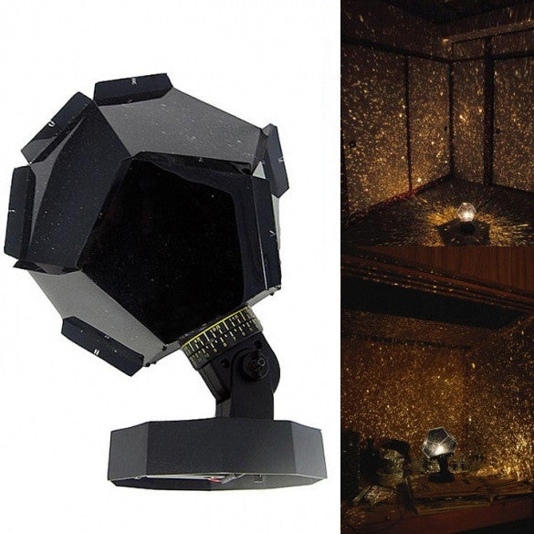 New Fantastic Celestial Star Projector Lamp Night Light Funny DIY Romantic Valentine's Day Gift