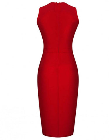 Bridesmaids Formal Bodycon Slim Knee-length Dress - MeetYoursFashion - 6