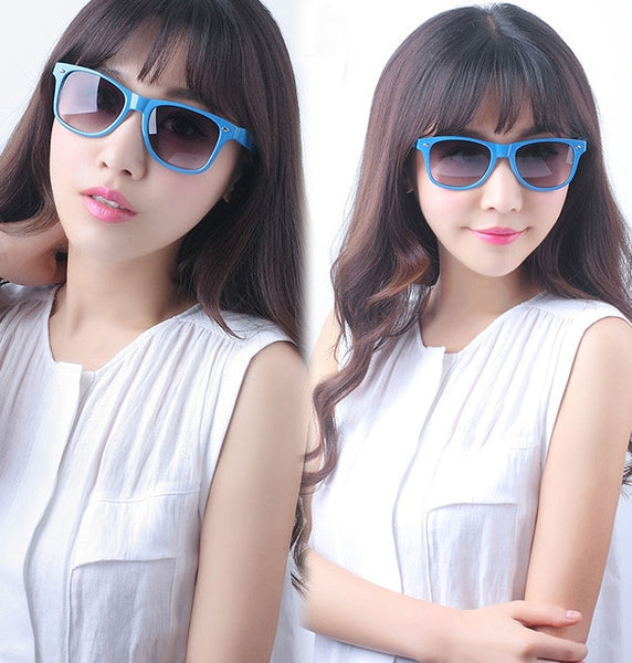 Classic Shades Women's Candy Color Glasses Sunglasses - MeetYoursFashion - 4