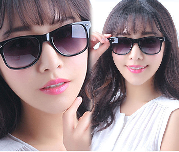 Classic Shades Women's Candy Color Glasses Sunglasses - MeetYoursFashion - 1