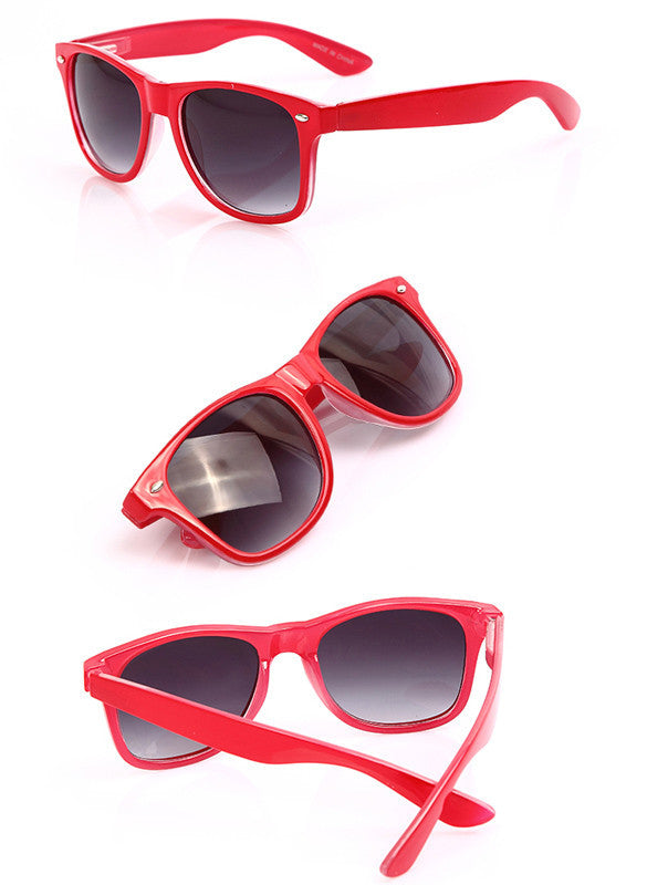 Classic Shades Women's Candy Color Glasses Sunglasses - MeetYoursFashion - 7