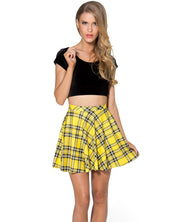 Stretch Waist Pleated Mini Skirt - MeetYoursFashion - 13
