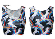 Tunic Sexy Vest Midriff Shirt Crop Top Cami - Meet Yours Fashion - 10