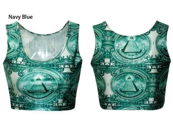 Tunic Sexy Vest Midriff Shirt Crop Top Cami - Meet Yours Fashion - 18